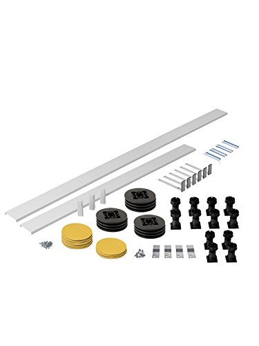 Square/Rectangle & Pentangle Riser Pack for Trays over 1300mm - 2000mm A&R Bathrooms