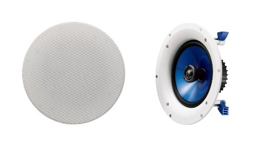 Yamaha NSIC800WH 140-Watts 2-Way RMS Speaker -- White (2 Speakers) by Yamaha