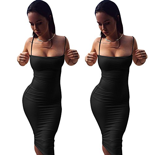 On Evening Dress Party Black Short Sling Women Dresses Sleeve Lady Pullover Bodycon Sale Chanyuhui Strappy Top EvRTw4qqn