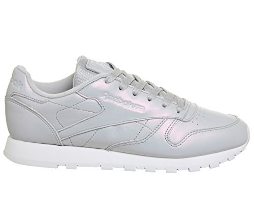 Pearlised Exclusive Reebok Rose Grey Femme LTHR Sneakers Cl Pastels TqS80gT