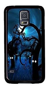 designer Samsung S5 cover Spooky Trees PC Black Custom Samsung Galaxy S5 Case Cover