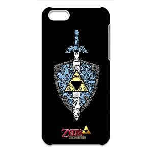 3D IPhone 5C Nupro Lightweight Protective Case the Legend of Zelda Sword Design