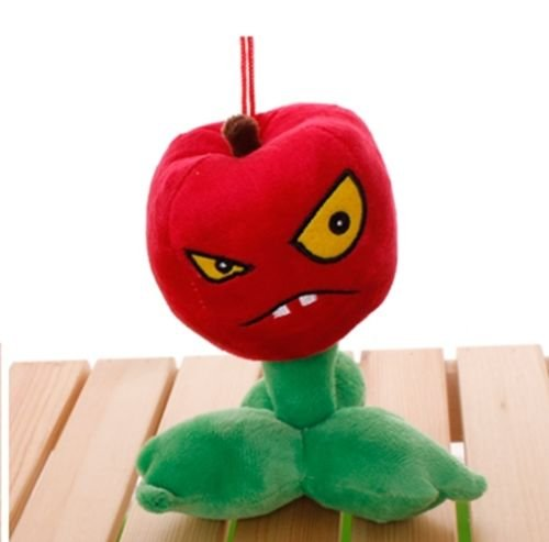Plants Vs Zombies 2 PVZ Figures Plush Baby Staff Toy Stuffed Soft Doll (Cherry Bomb) ()