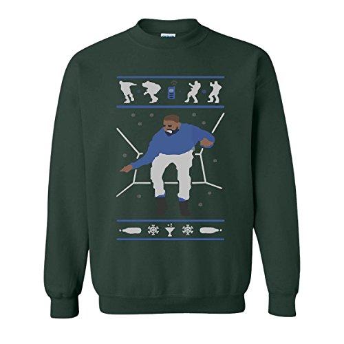 H&T Shirt Sweatshirt for Women Men Hotline Bling Drake Unisex Sweatshirts(Forest,XX-Large) ()