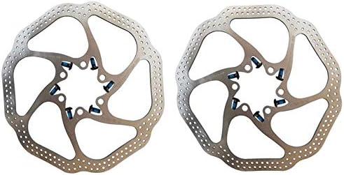 ロードバイクディスク マウンテンバイクBMX MTB 160mmフローティングローターフローティングディスクブレーキディスク6ネジアルミニウム