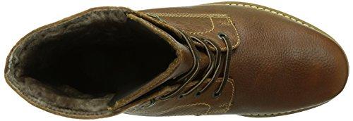 FRETZ menBoris - botas de caño bajo hombre marrón - Braun (56 cigar)