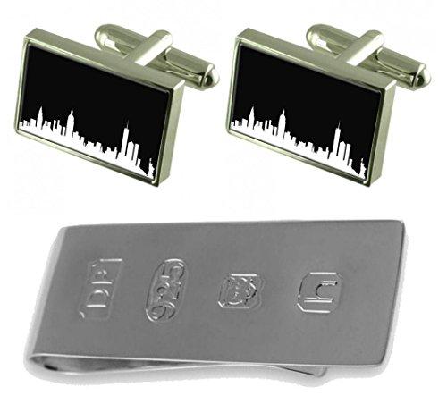 Bond Cufflinks amp; York Skyline James Skyline Cufflinks New York New Clip Money z4aw16Swq