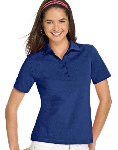 Hanes Women`s ComfortSoft® Cotton Pique Polo Shirt