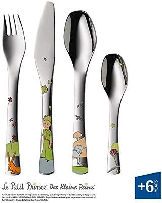 WMF El Principito - Cubertería para niños 4 piezas (tenedor ...