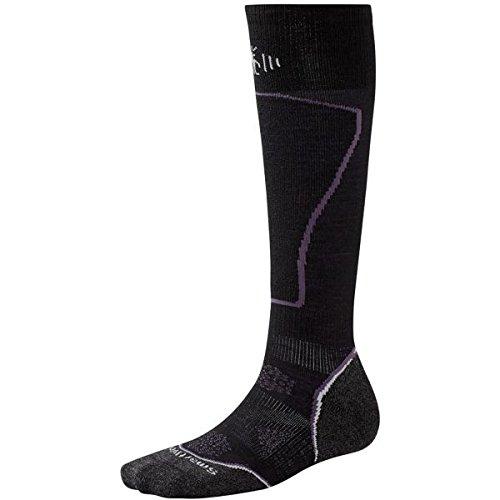 Smartwool Damen Socke PHD Ski Light Women'Socken, Schwarz