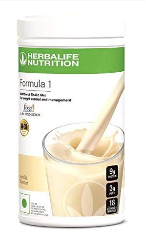 Herbalife Formula 1 Nutritional shake mix 500gms (Vanilla) (B07MBN8M2J) Amazon Price History, Amazon Price Tracker
