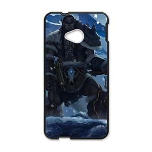 HTC One M7 Cell Phone Case Black Durotan 007 YE3391899