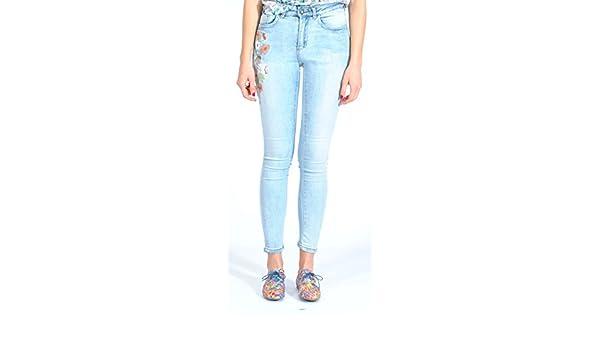 Bonaventure K15042 Pantalones, Mujer, Azul (Denim 1354), 44 ...