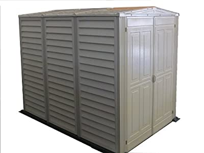 Duramax 00882 5x8in Yard Mate Vinyl Shed with Floor