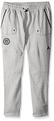 Other Union - adidas MLS Philadelphia Union Ultimate Worn French Terry Jogger Pants, Large, Medium Grey