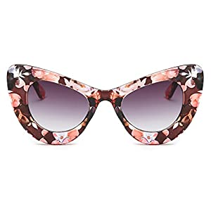 Slocyclub Fashion Classic Bold Thick Womens Ladies Cat Eye Sunglasses