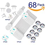 Baby Proofing 46 Pack 16 Corner Guards Corner Protection