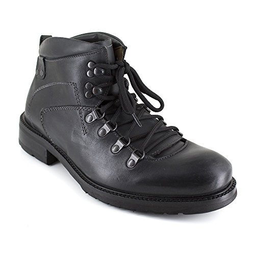 Low Lion Lionel Boots Negro Leather Blade Peter 0vqzwc5HW