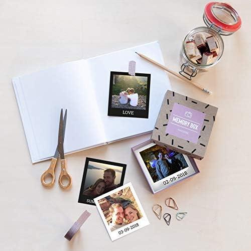 Printed photo gift box - Polaroid - 24 prints: Amazon.co.uk: Kitchen & Home