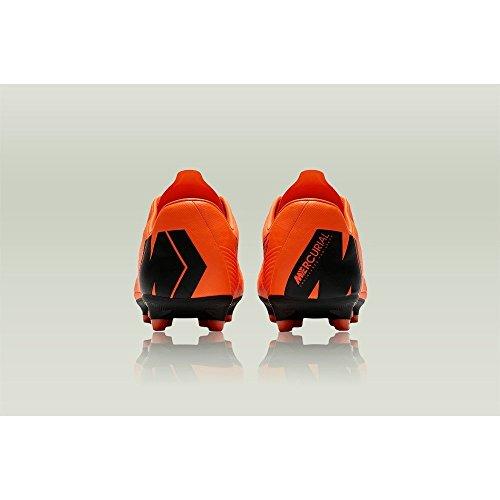 Fitnessschuhe 810 pro 12 Unisex Orange Vapor AG NIKE Total Black Mehrfarbig Erwachsene qXUPwqY