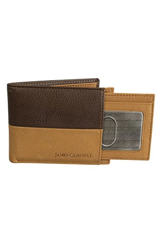 Tone Bifold Tone Two Bifold James James Wallet Leather Campbell Two Leather Campbell qIwr1IH