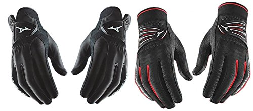 Mizuno NEW Rainfit & Thermagrip Mens Pair of Golf Gloves Size Small Regular 2016