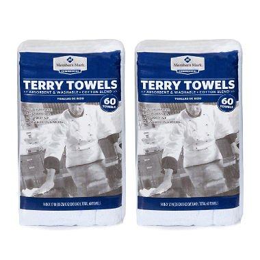Member's Mark Terry Towels (120 ct)