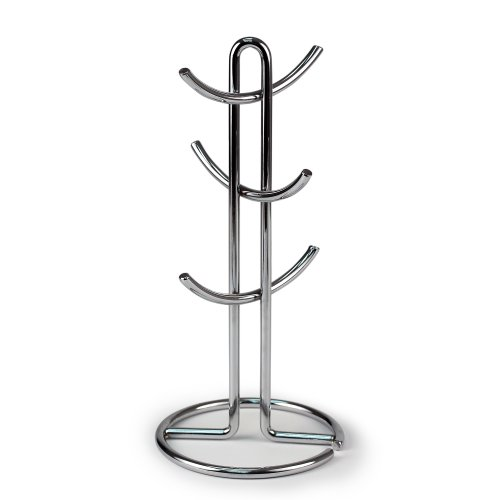 Spectrum Diversified Euro Mug Holder, Chrome