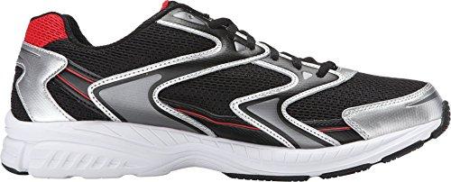 Fila Men's Xtent 3 BlackMetallic SilverFila Red Sneaker 11 D (M)