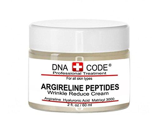 DNA Code Pure Argireline Peptides Winkle Reduce Cream-Hyaluronic Acid+ Matrixyl 3000