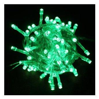 Generic 10m 110v 100led Copper Line Memory Controller Christmas Xmas Light Wedding (Green)