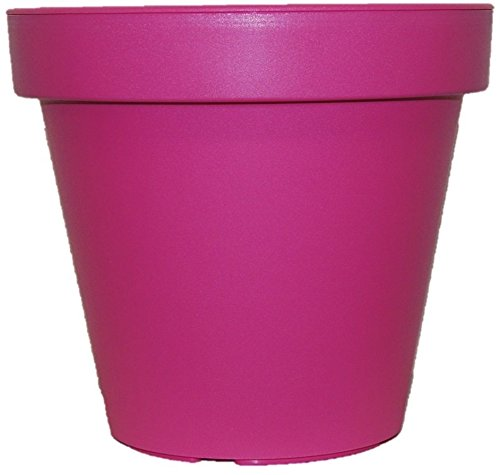 Koop bright colored plant pots large medium small planters pink koop bright colored plant pots large medium small planters pink lime green teal 60cm teal amazon garden outdoors mightylinksfo