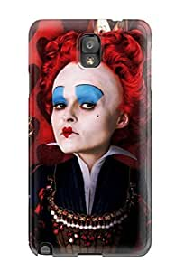 Ideal Heatffey Case Cover For Galaxy Note 3(the Red Queen Dark Heart Blue People Movie), Protective Stylish Case by icecream design