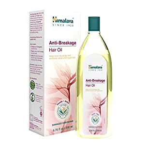 Himalaya Anti-Breakage Hair Oil with Thistle and Amla for Damaged Hair and Split Ends 6.76 oz (200 ml) 2 PACK