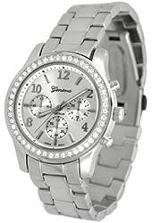 Geneva Platinum Women's Watch 9073.Silver