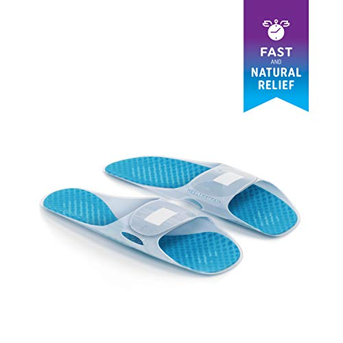 Heel That Pain Plantar Fasciitis Ice Pack Therapy Slippers for Heel ()