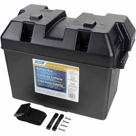 camco rv battery box - 7