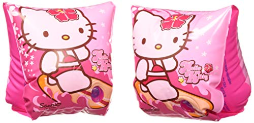 Hello Kitty Deluxe Inflatable Arm Bands Floatation Sleeves,for Ages 3-6