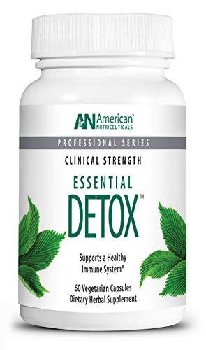 American Nutriceuticals - Essential Detox - 60 Tablets | Professionally Formulated Whole Body Detox & Cleanse | Naturally Cleanse, Purify & Renew | Highly Effective Detox of Environmental Toxins