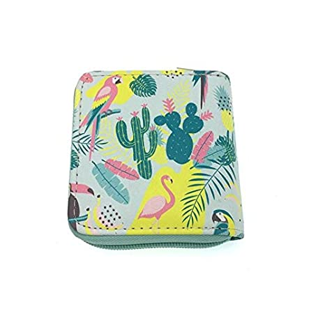 Amazon.com: Flamingo - Mini cartera con diseño de unicornios ...