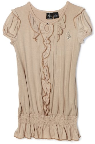 Baby Phat Big Girls' Smocked Top