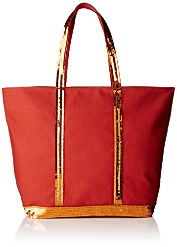 Vanessa Bruno Means Basket Zip + - Bolsos Totes Mujer Naranja (ginger Orange)