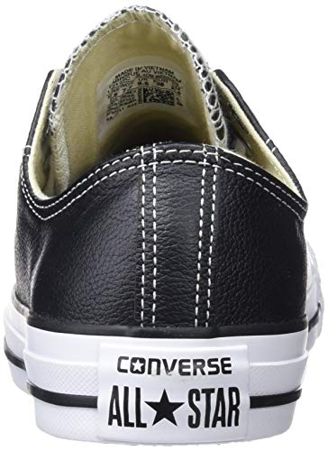 Top Sneaker Star Leather All Taylor Black Chuck Men's Low Converse gwFSUU