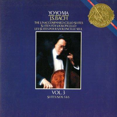 The Unaccompanied Cello Suites Vol. 2 Suites Nos. 3 & - Vinyl Cello Unaccompanied