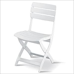 Amazon Com Kettler Venezia Folding Side Chair Resin