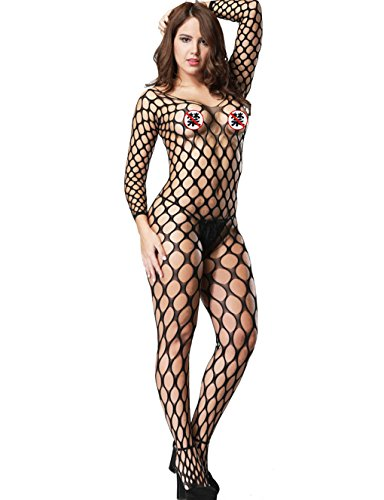 Armoires Unfinished Tv (LemonGirl Sexy Fishnet Bodystockings Lingerie for Women Open Crotchless Bodysuit Stockings Free Size)
