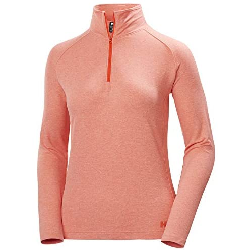 chollos oferta descuentos barato Helly Hansen W Verglas 1 2 Zip Suéter con Media Cremallera Mujer Cherry Tomato XL