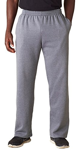 Fruit Of The Loom Sofspun Adult Fleece Pant (Athletic Heather) (L)