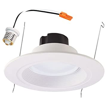 Halo 6 in white led recessed lighting trim led household light halo 6 in white led recessed lighting trim mozeypictures Image collections