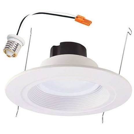 Halo 6 in White LED Recessed Lighting Trim Led Household Light